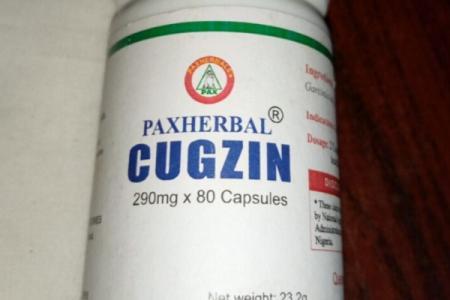 COVID 19:NAFDAC approves Pax herbal  Cugzin for immune booster
