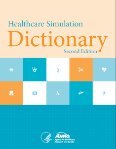 Healthcare-simulation-Dictionary