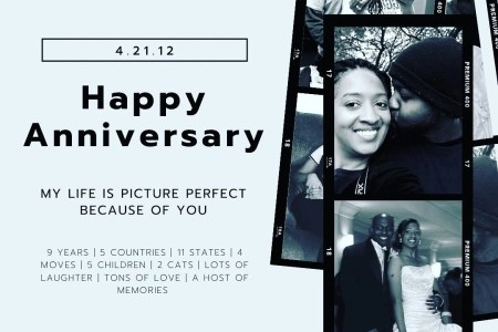 Our 9th Wedding Anniversary