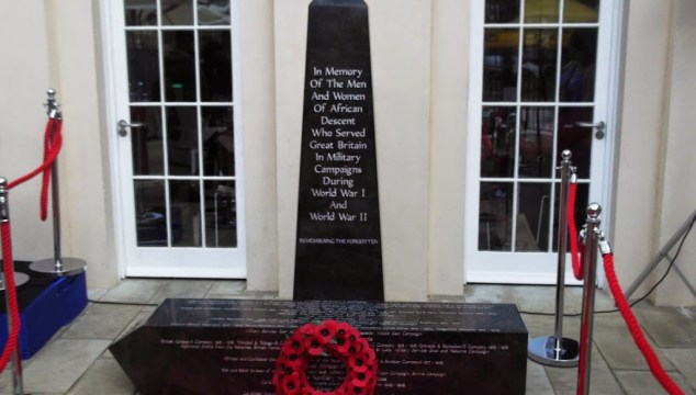 African and Caribbean War Memorial Unveiled