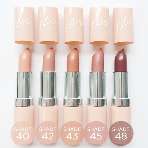 Rimmel Kate| Nude Lipsticks