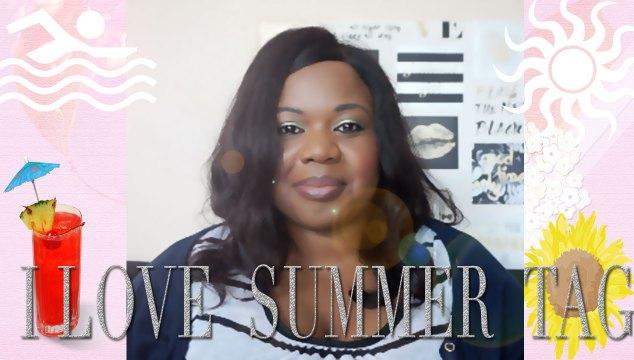 I Love Summer Tag