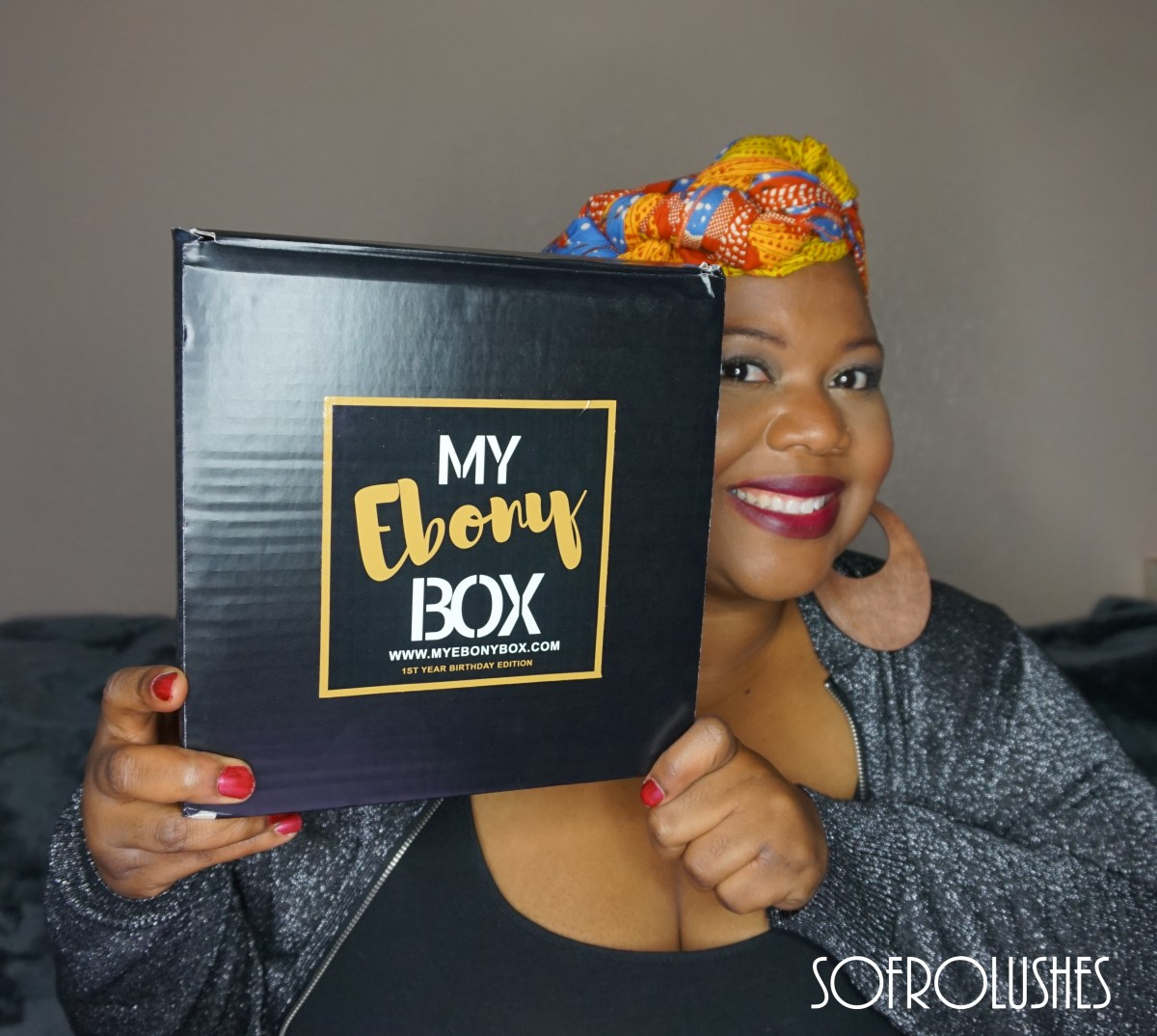 My Ebony Box October Birthday Edition