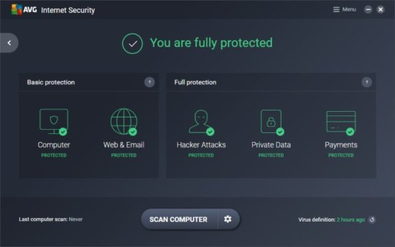 AVG Internet Security 2020 Free Key for 1 Year License Full Version