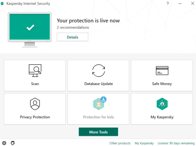 Kaspersky Internet Security 2020 Free License Key for 90 Days