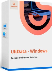 Tenorshare UltData Registration Code Free for 1 Year - Windows