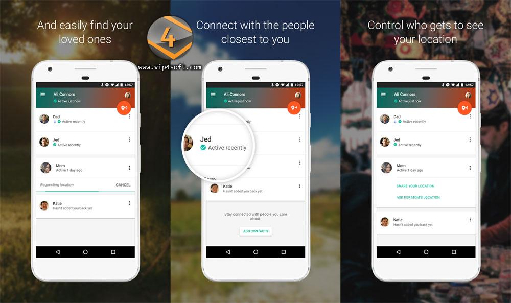 تطبيق جهات الاتصال الموثوقة Trusted Contacts من جوجل لأجهزة وهواتف أندرويد