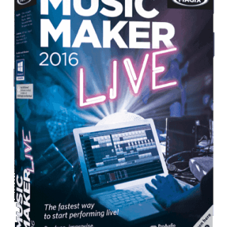 Magix Music Maker 2016 22.0.1.51 Full Crack