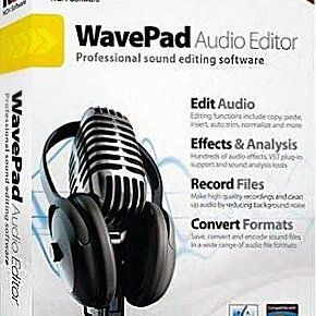 WavePad Sound Editor Masters Edition 6.37 + Crack