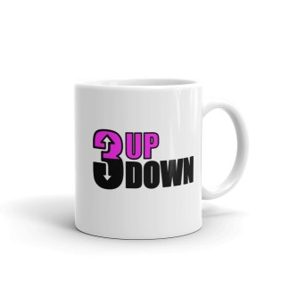 3 Up 3 Down Fastpitch Softball Coffee Cup Mug