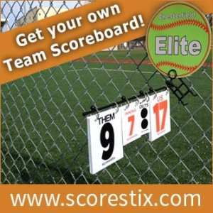 One GREAT SOFTBALL Idea! SCORE-STIX