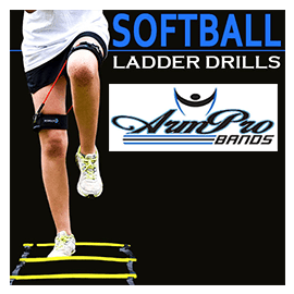Arm Pro Bands | softball ladder drills