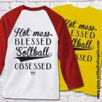 Hot mess, blessed, softball obsessed!