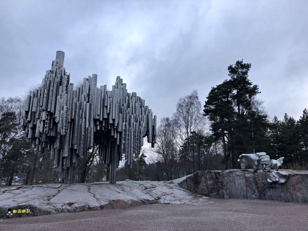 芬蘭赫爾辛基景點》西貝流士紀念碑Sibelius Monument●捍衛自由「芬蘭頌」 氣勢磅礡巨大管風琴紀念碑 西貝流士紀念碑交通方式 芬蘭自由行/芬蘭自助@西貝流士公園