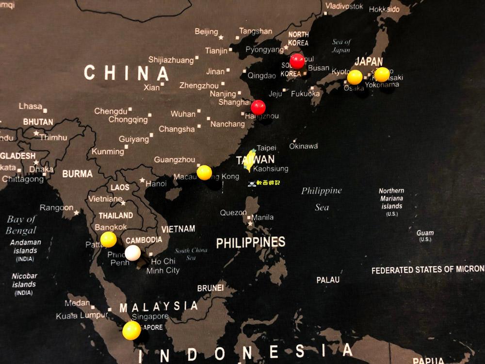 Umade世界地圖》客製化世界地圖●客製化UMAP世界地圖 專屬獨特旅行記錄 送禮自用兩相宜 來自台灣設計師的世界地圖