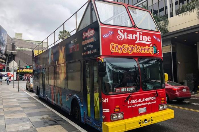 美國洛杉磯一日遊》●不自駕遊LA! 洛杉磯一日遊 搭雙層巴士暢玩洛杉磯景點 美國洛杉磯City Sightseeing觀光雙層巴士 LA景點/洛杉磯景點