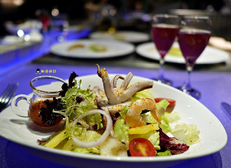 [食記]台北忠孝敦化站 墨賞新鐵板料理 高級奢華頂級氣氛餐廳 浪漫約會、慶生、求婚好選擇