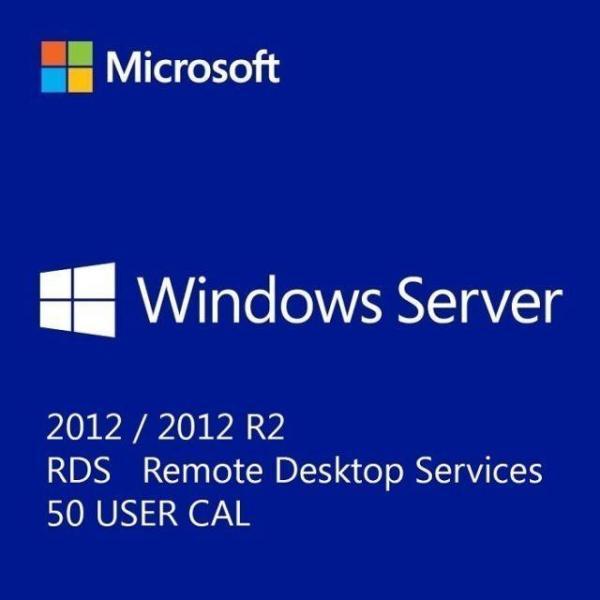 Microsoft Windows Server 2012 Remote Desktop Services | 50 User-Cal