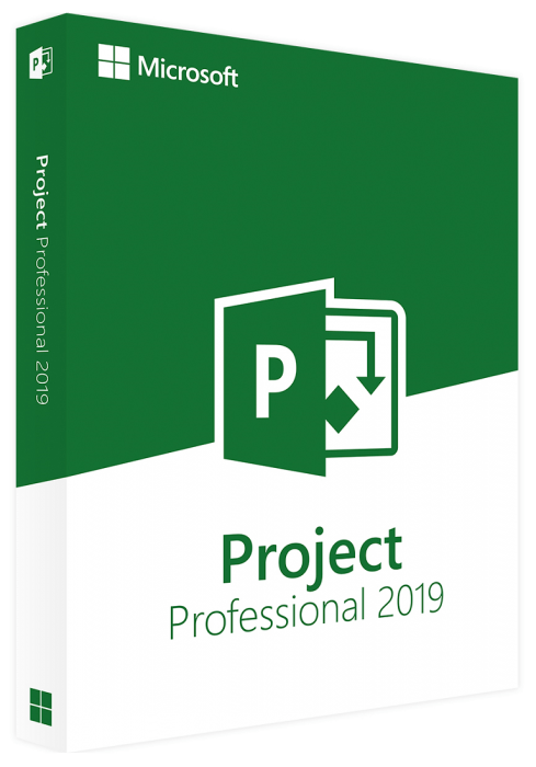 Buy Online Microsoft Project Professional 2019 Software   1PC-License