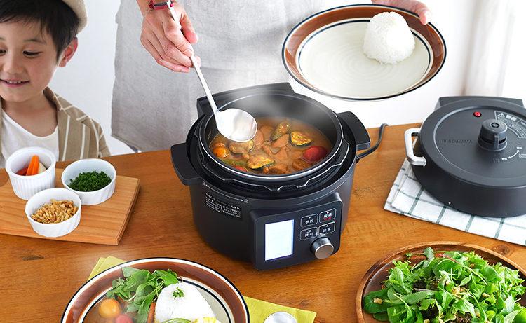 アイリスオーヤマの電気圧力鍋(KPC-MA2)