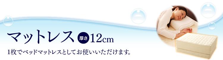 エアリープレミアムマットレス HGB120-S 厚さ12㎝シングル