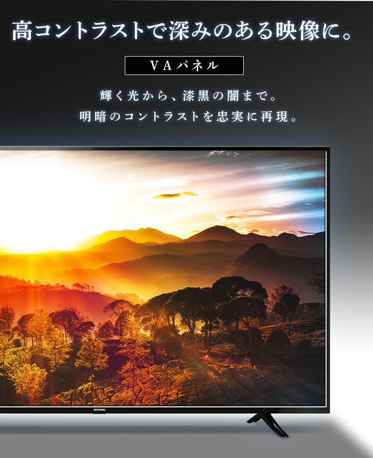 採用パネル(アイリスオーヤマテレビFiona【55ub10p】)