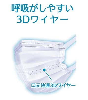 アイリスオーヤマのナノエアーマスク3Dワイヤー2