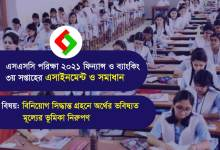 SSC 2021 Finance and Banking Assignment Answer 3rd Week