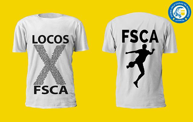 Un paso más en nuestro departamento de Merchandising deportivo, camisetas personalizadas
