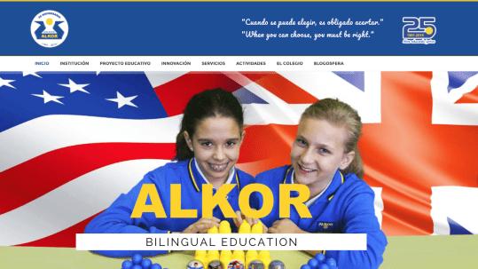 Web del Colegio Alkor