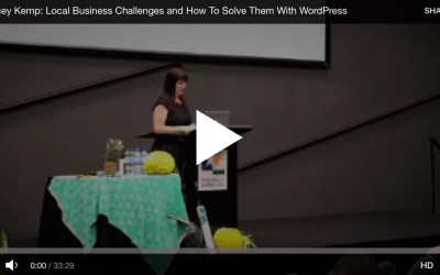 Local Business Challenges and How To Solve Them With WordPress (VIDEO) featuring @getwebcreative