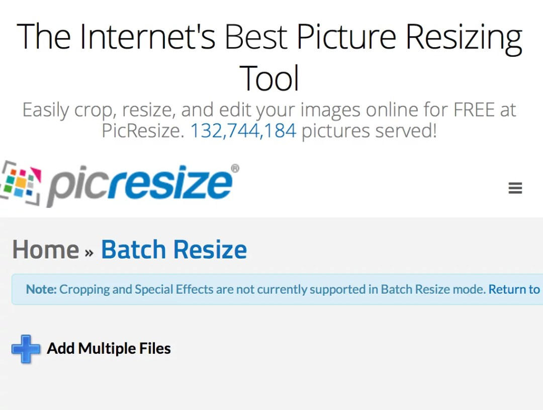 Picresize - resize image dimensions in batches-min