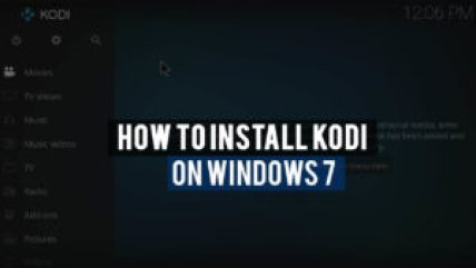 Install kodi on windows 7