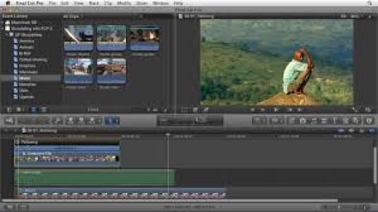 Final Cut Pro utlity for windows 7 layout