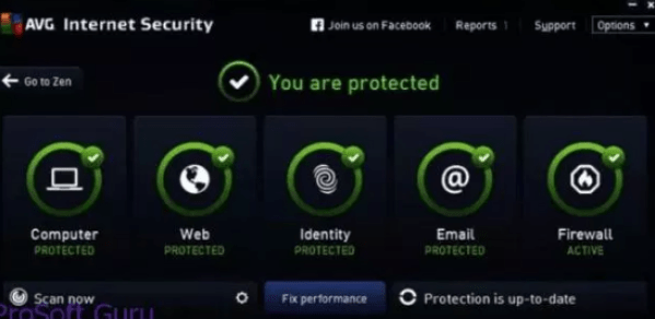 avg PC security 2019 serial key