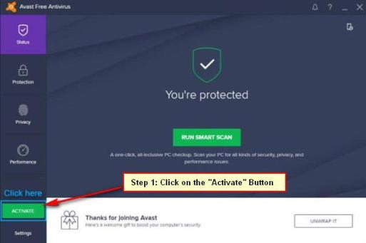 new avast antivirus 2019 how to activate license key free