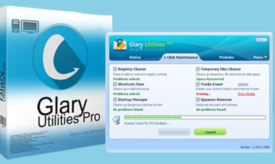Glary Utilities Pro Serial Key Free 2020