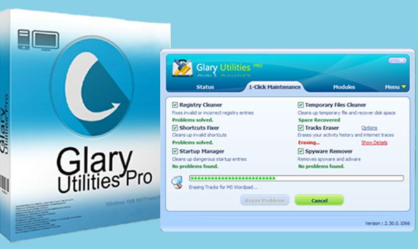 Glary Utilities Pro Serial Key Free 2019