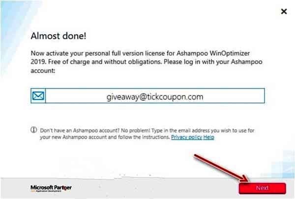 ashampoo activation license key free