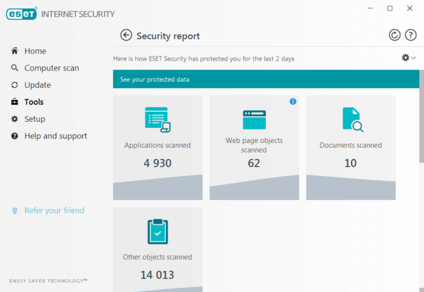 Eset Internet Security 2021 Free Trial for 90 Days