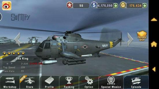 Download Gunship Battle Helicopter 3D APK