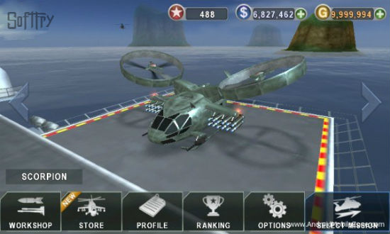 Gunship Battle Mod Hacked APK
