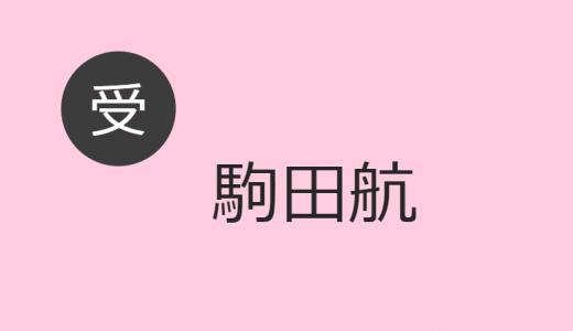 駒田航 受け