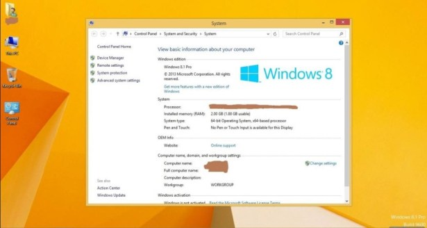 Windows 8.1 Torrent + Activation [iso File] 32/64 Bit Free Download