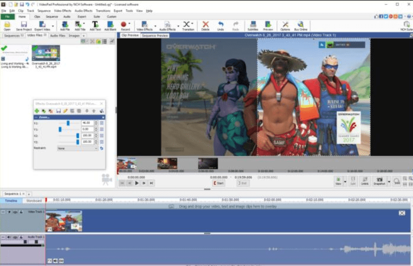 VideoPad Video Editor Registration Code Crack Full Final [Updated]