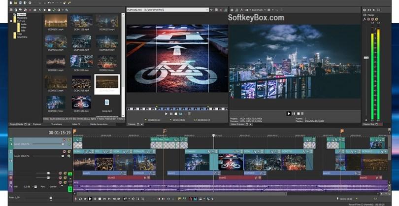Sony Vegas Pro Crack Full Torrent + Keygen {Latest}