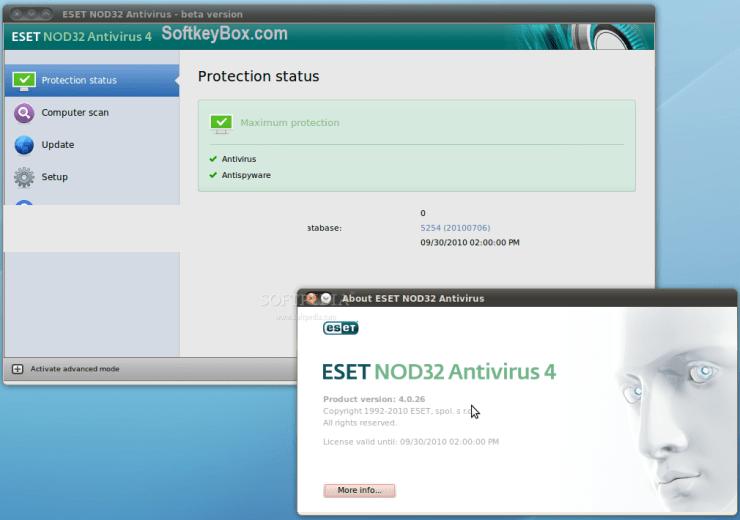 ESET NOD32 Antivirus Crack Updated Here