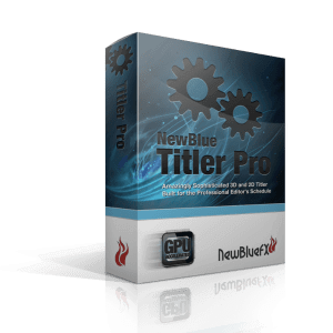 NewBlueFX Titler Pro 7.0 Build 191114 Ultimate (x64) Crack Download