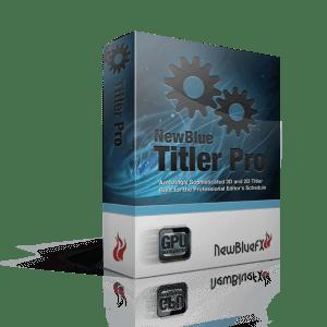 NewBlueFX Titler Pro 7.0 Build 191114 Ultimate (x64) Crack Download