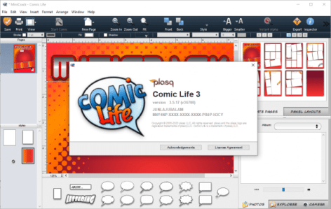 Comic Life 3.5.17 Full Version Crack Latest Download